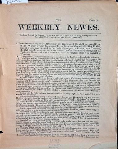 Primer periódico inglés de tirada continua