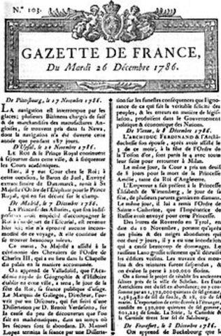 Fundación primer Periódico
