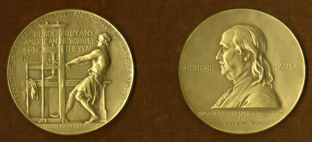 Fueron establecidos lo premios Pulitzer