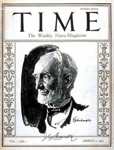 Sale en circulación TIME MAGAZINE
