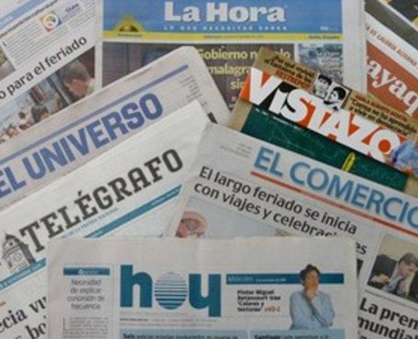 Diarios en capitales
