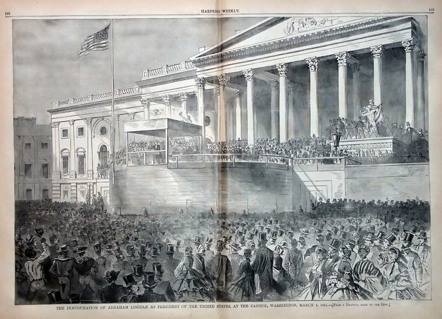 Lincoln's 1st Inauguration