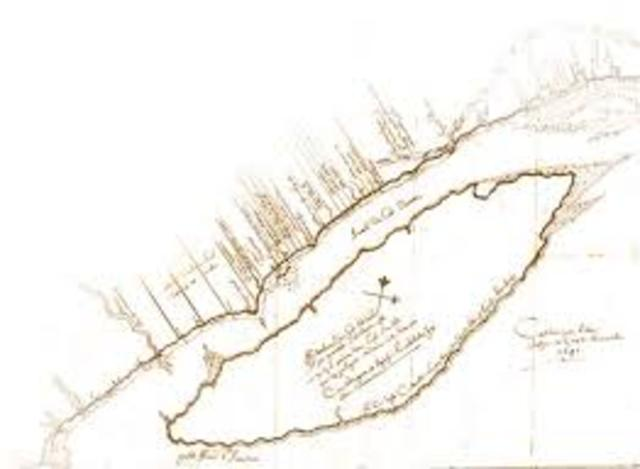 Carte de la Seigneurie de Beaupré