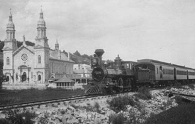P'tit train de Sainte-Anne