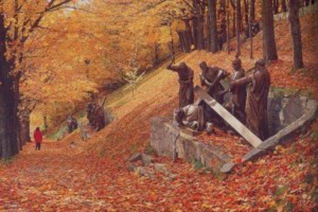 Le chemin de croix de Sainte-Anne-de-Beaupré