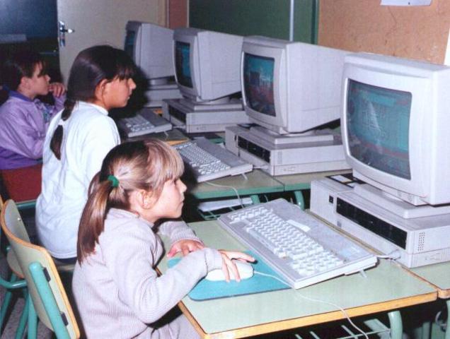 Primer programa educativo en el computador