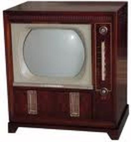 Aparece la Televisión