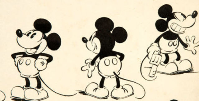 Creation of Mickey Mouse