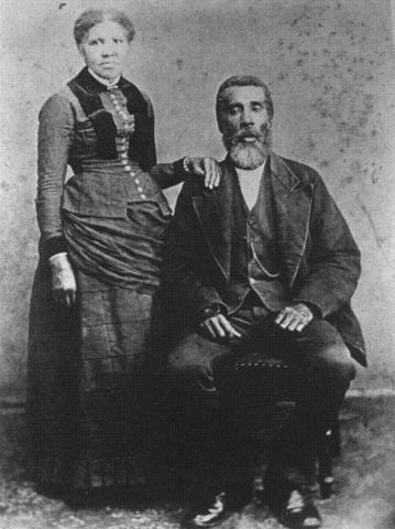 Marriage of John and Harriet Tubman