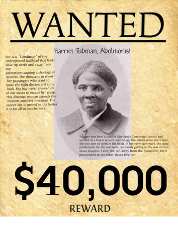 Harriet Tubman Successfully Escapes from Slavery