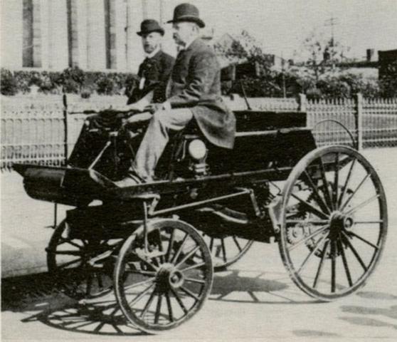 Primer Auto Electrico