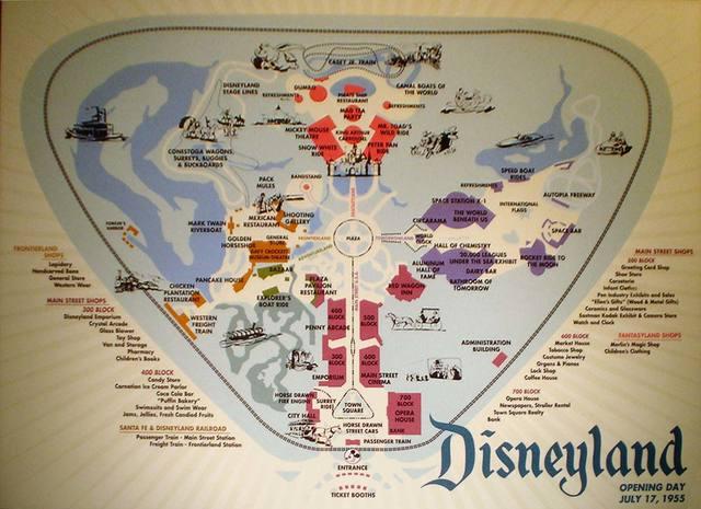 Opening of Disneyland