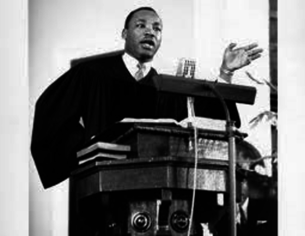 dr king becomes a pastor