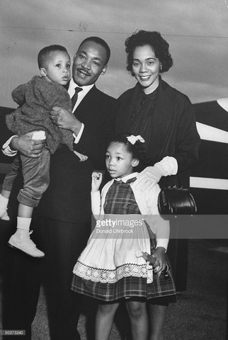 dr king has his second child