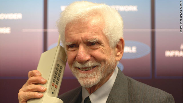 First portable cell phone is made