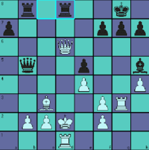 First Computer Game is a Chess sim. called TuroChamp