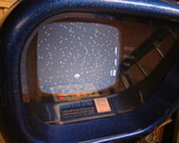 The first commercially released video game, Computer Space