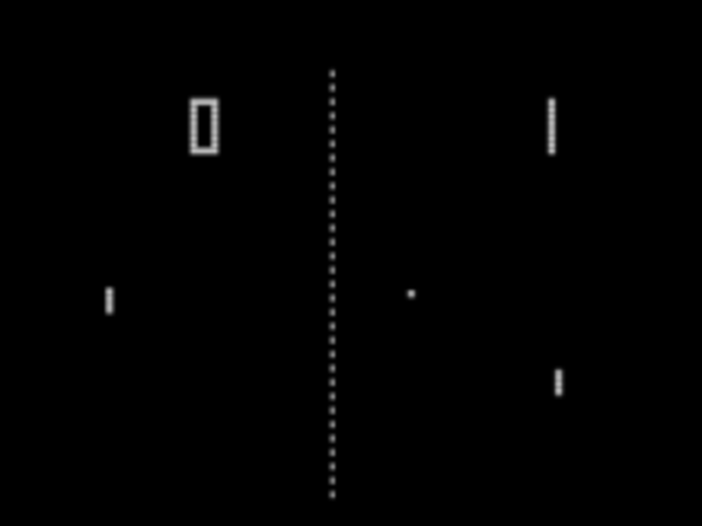 First arcade game to recieve unveral aclaim and sell tremendously, Pong