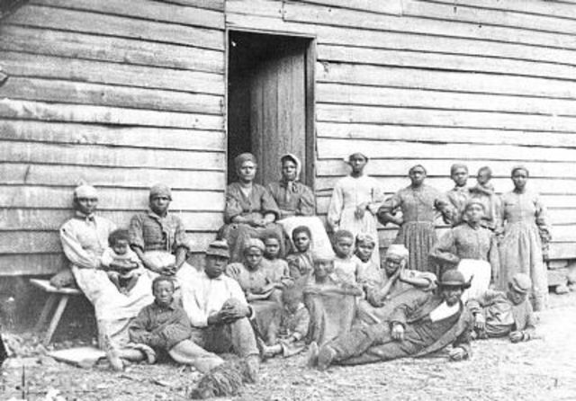 Harriet Tubman Guides Eleven Fugitive Slaves to Canada