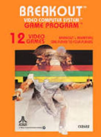 Atari's Breakout was Released