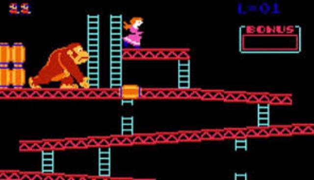 Donkey Kong, first Real Platformer