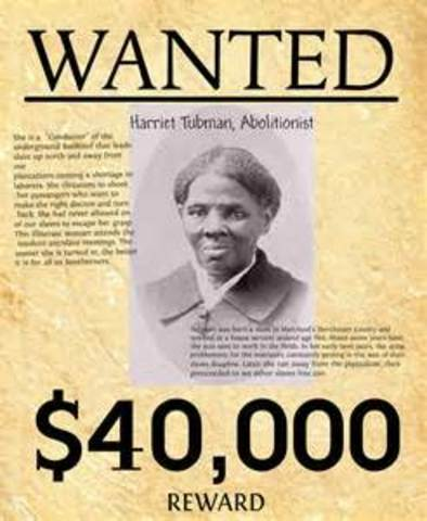 Harriet Tubman is Wanted