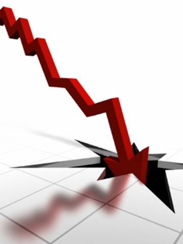 caida de la bolsa de valores