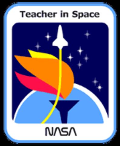 Teacher in Space Project Begins