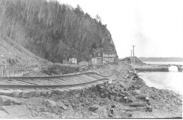 Le chemin de fer se rend à La Malbaie