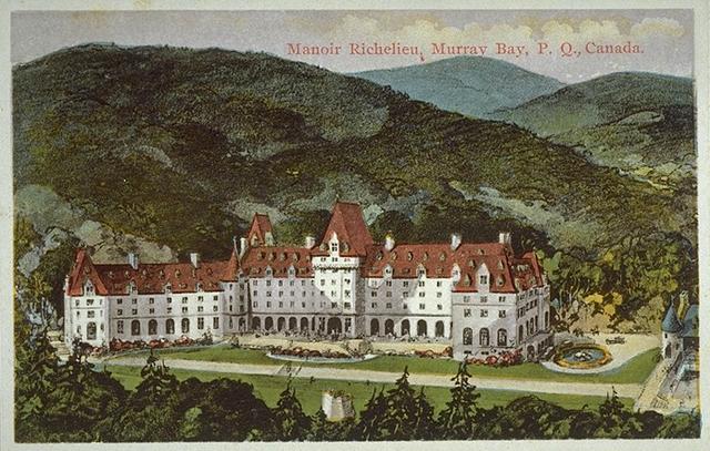 Réouverture du Manoir Richelieu