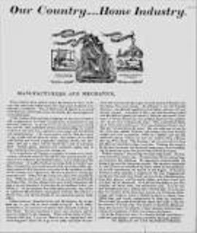 Tariff of 1816 (Dallas Tariff)