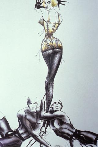 Jean Paul Gaultier et Madonna