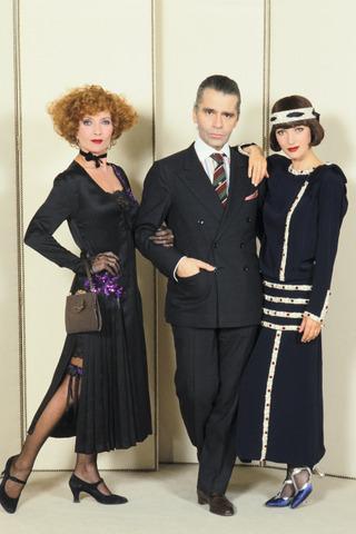 Karl Lagerfel, le DA de Chanel