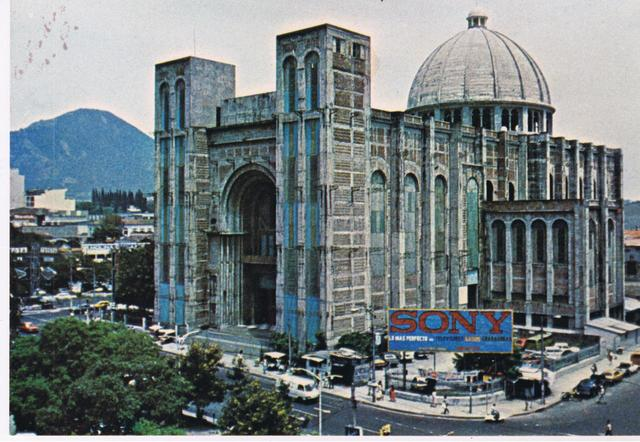 Toma de Catedral Metropolitana de San Salvador