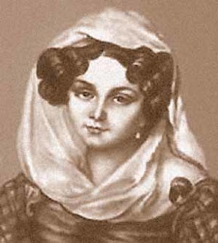 Знакомство с княгиней Е. Волконской и перемена религиозных взглядов