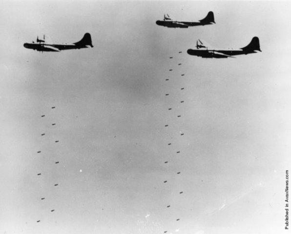 Korean War bombings