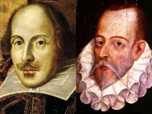 Muerte de Shakespare y Cervantes