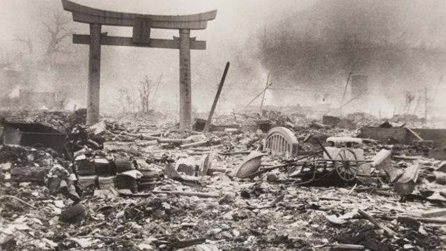Caída de la bomba atómica en Hiroshima y Nagasaki
