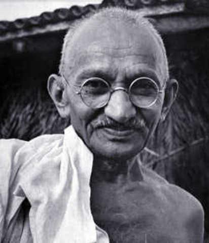 Muerte de M. K. Gandhi por asesinato.