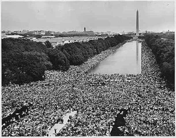 "Se realiza la gran ""Marcha sobre Washington"""
