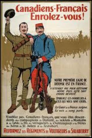 WW1 Conscription Crisis