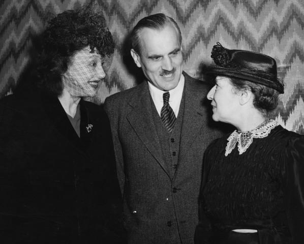 Lisa Meitner, Otto Hahn, & Fritz Straussman