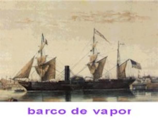 BARCO DE VAPOR-1836