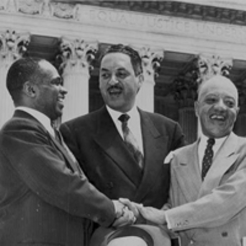 Thurgood Marshall Named Supreme Court Justice