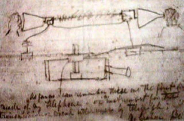 Se otorga la patente #174,465 a Alexander Graham Bell.