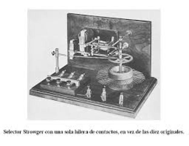 Almon B. Strowger, inventa el teléfono de marcado