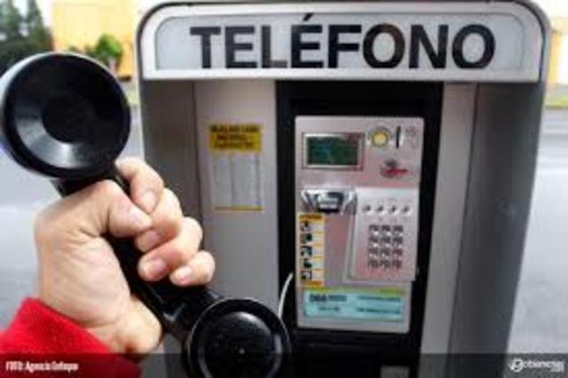 Comienza la apertura telefónica (de larga dist.) en México.