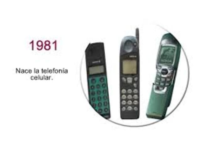 Nace la TELEFONÍA CELULAR