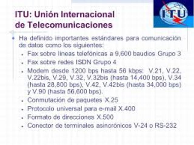 Es adoptado el estándar internacional para fax (Grupo III),