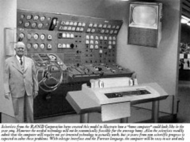 Se inicia el servicio de Teletipo (predecesor del FAX).